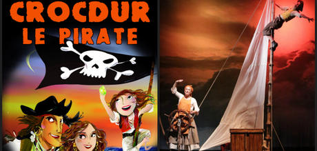 Spectacle jeune public Crocdur le pirate